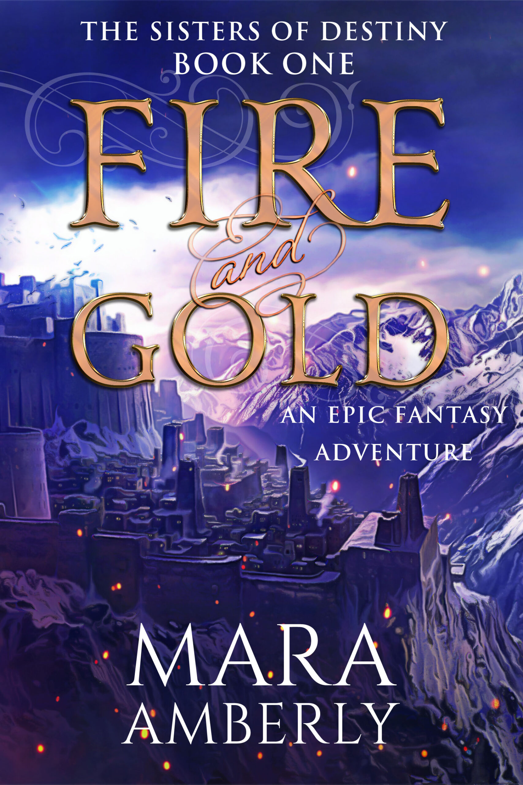 Fire and Gold Book Cover